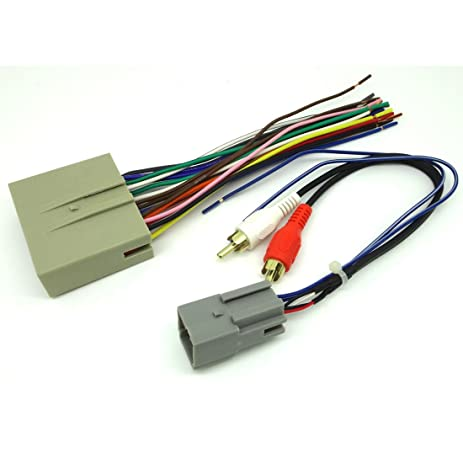 amazon com ford car stereo cd player wiring harness wire rh amazon com Dodge Radio Wiring Harness GM Factory Radio Wiring Harness