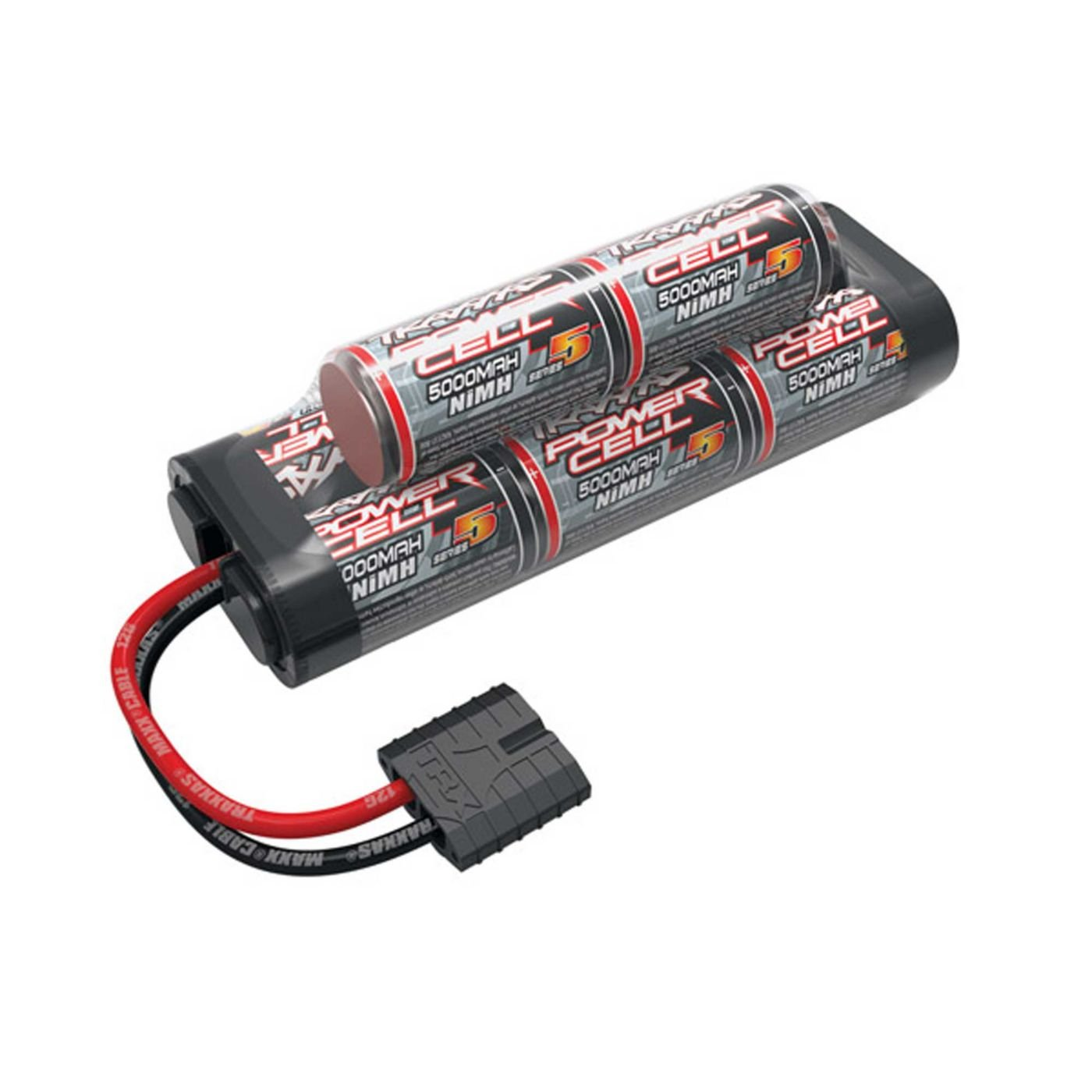 Amazon Traxxas 2963X NiMH 8 Cell 9 6V Series 5 5000mAh Battery hump pack Toys & Games