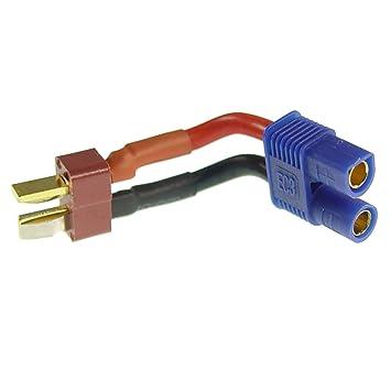 EC3 hembra a Dean T de Plug Conector batería Cargador Cable de ...
