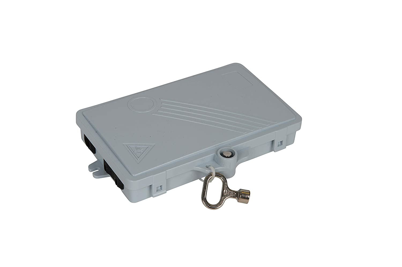 Bud Industries FBR-11604 2 Core Fiber Optic Distribution Box