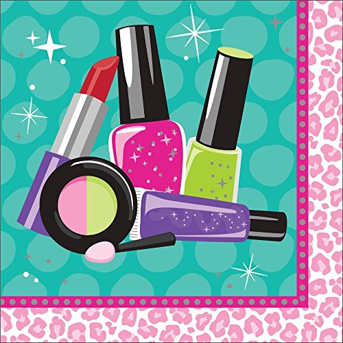 Makeup Spa Birthday Party Supply Pack Bundle For 8 Guests by Creative Converting (Image #3)