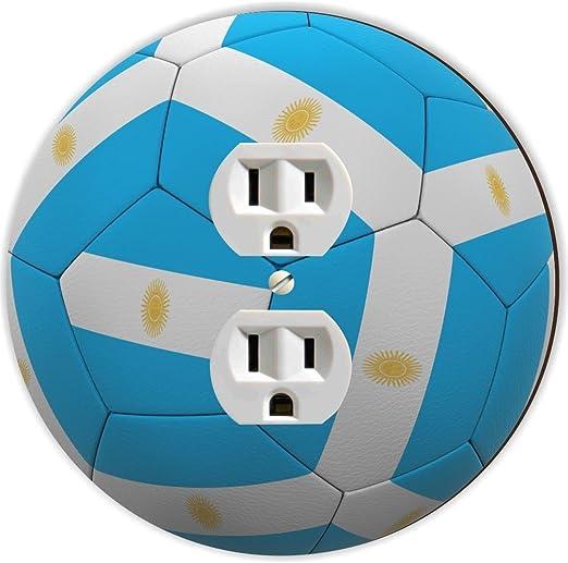 Rikki Caballero balón de fútbol de bandera de Argentina equipo ...