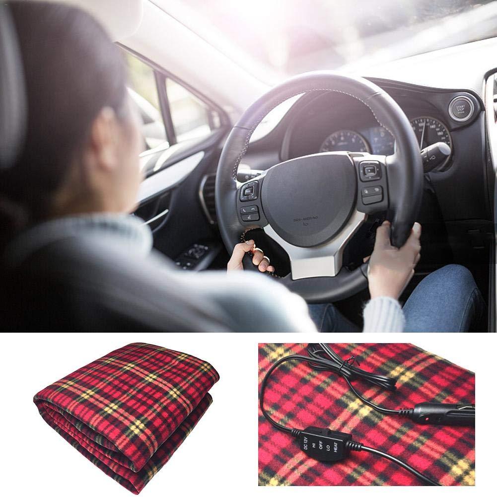 12V Heated Car Travel Electric Blanket Warm Car Electric Blanket 150100cm