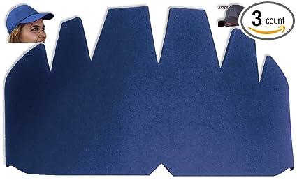 dd2d5e7ca8520e 3Pk. Dark Blue Baseball Caps Inserts| Fitted Caps| Hat Stretcher| Ball Caps