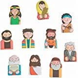 Bible Figure Puffy Finger Puppets