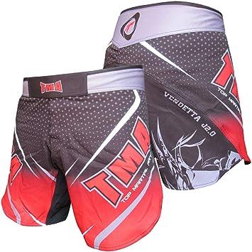 Training Thai Muay Shorts UFC Kick Boxing Martial Arts Training Fighting 2X