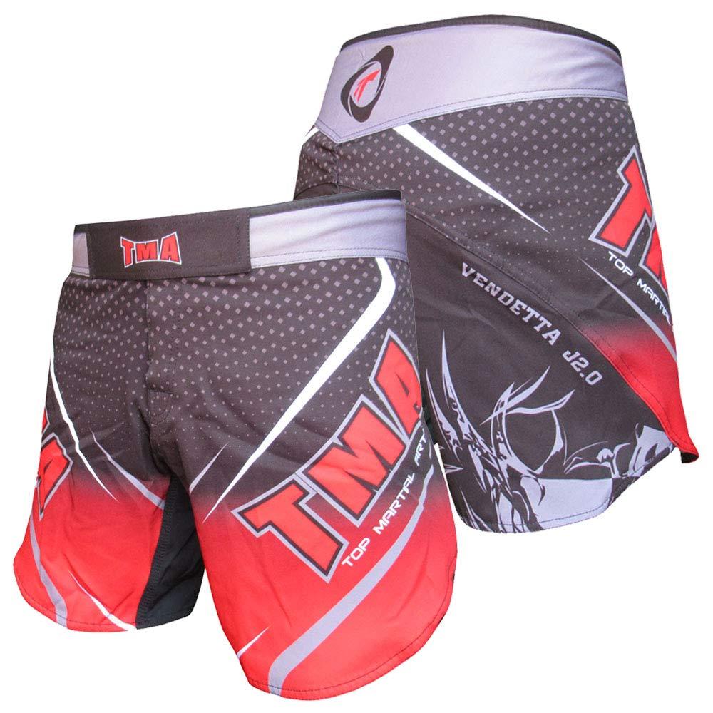 TMA 総合格闘技 ストレッチ ショーツ 衣類 トレーニング UFC ケージファイティング 格闘 格闘技 ムエタイ キックボクシング B07GZZRFXC  XX-Large