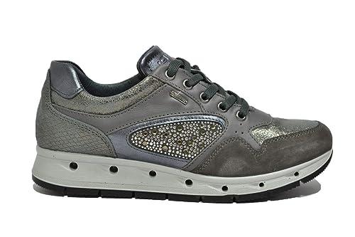 IGI CO Sneakers Zeppa Grigio Scarpe Donna Gore-Tex Surround 87642 39 ... 2e23082acbc