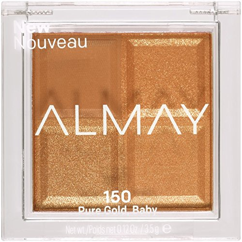 Almay Shadow Squad, Pure Gold, 1 count, eyeshadow palette