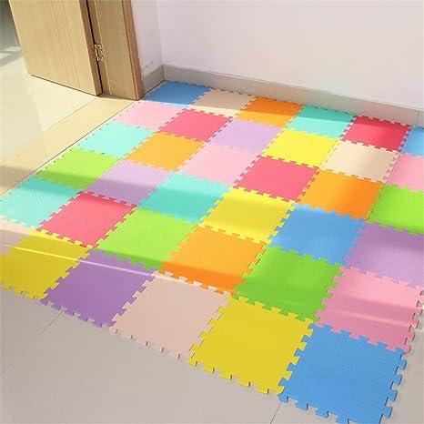 margen Despertar Latón  ECYC Baby EVA Foam Play Puzzle Mat Para NiñOs, Thick Floor Mat Interlocking  Exercise Tiles Alfombra De Alfombra, Cada 32X32cm (Paquete De 18 Piezas):  Amazon.es: Bebé
