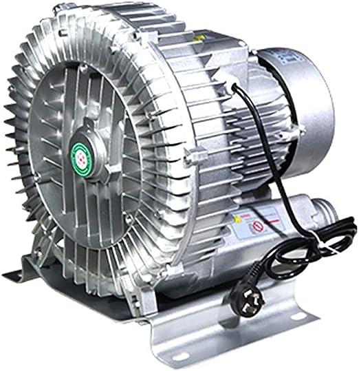 Ventilador Centr/ífugo Ventilador Industrial V/órtice Bomba De Aire Potente Ventilador Aireador Estanque De Peces Bajo Ruido//Resistencia Al Desgaste//Alto Volumen De Aire 370W 250W