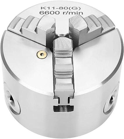 utensile da tornio in legno in lega di zinco Z011 per autocentrante Mandrino per tornio accessorio morsetto mandrino a 3 ganasce per mini tornio in metallo