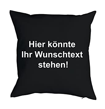 Printplanet Kissen Mit Eigenem Text Bedrucken 100 Baumwoll