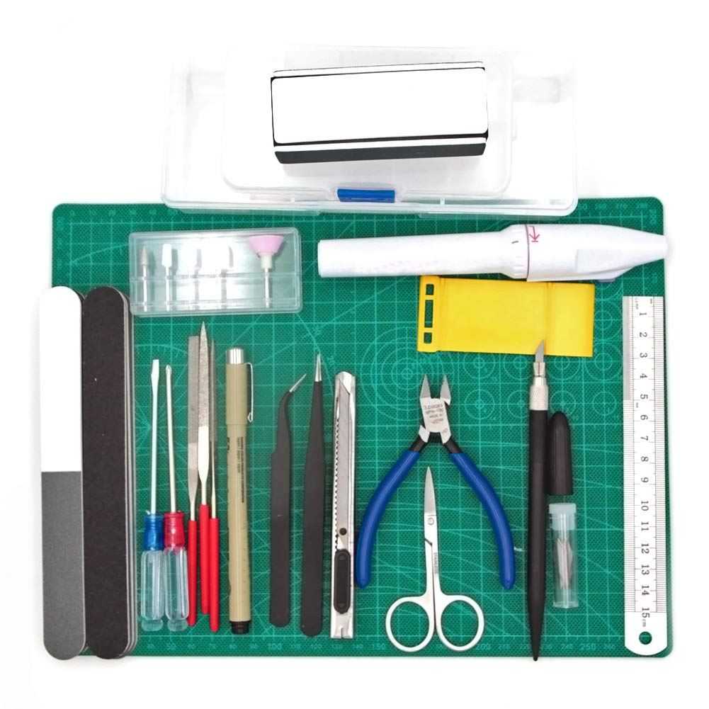 Driak Professional Model Basic Tools Craft Set for Car Airplane Building Gundam Model Assemble Building