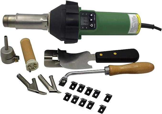1600W Digital Display Hot Air Gun Hot Air Hand Tool for PE PVC HDPE EVA PP TPO
