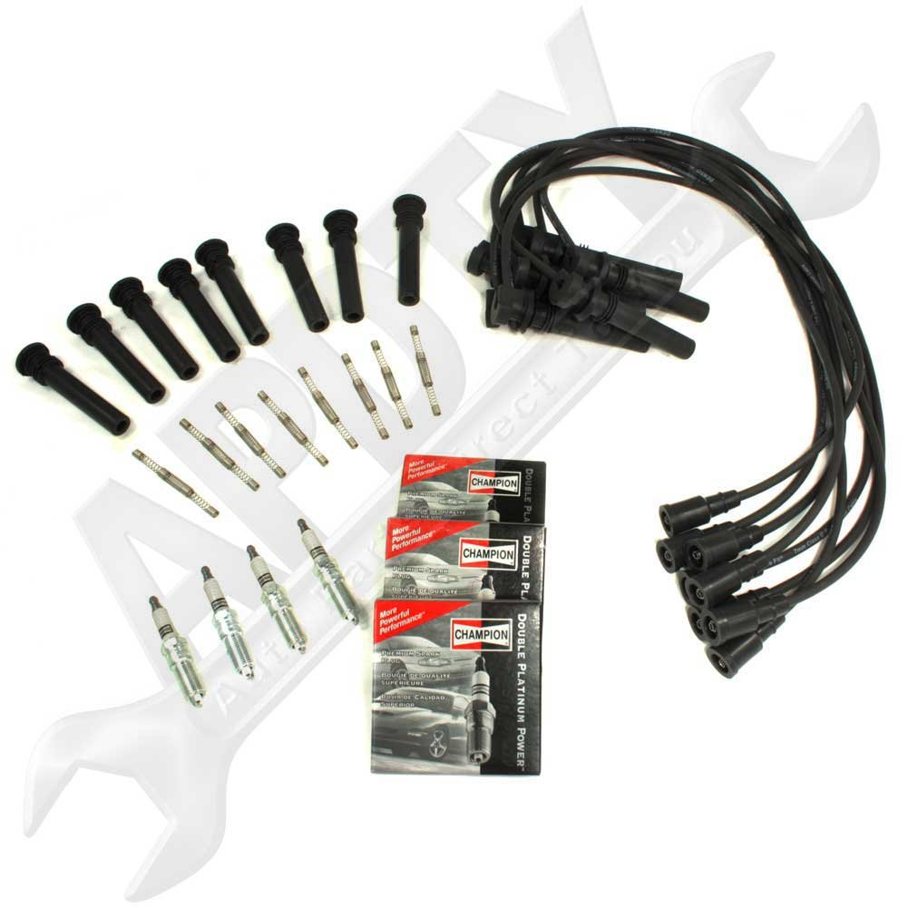Amazon APDTY Tune Up Kit Includes 16 OEM Spark Plugs 16 – Dodge Ignition Wiring