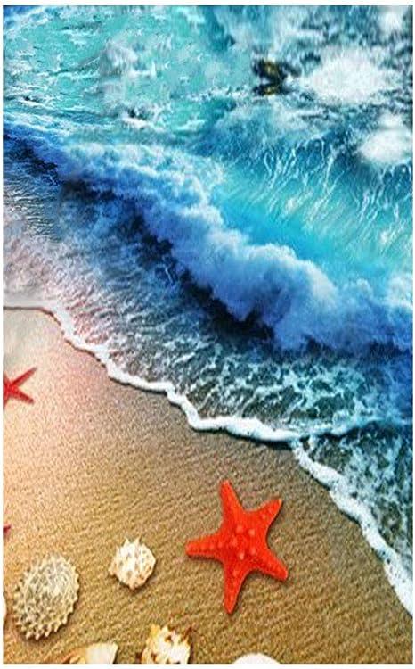 TROPICAL PARADISE FLIP FLOPS BEACH THEMED BATHROOM SOFT RUG MAT HOME DECOR