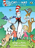 Wings and Paws and Fins and Claws (Dr. Seuss/Cat in the Hat) (Deluxe Coloring Book)