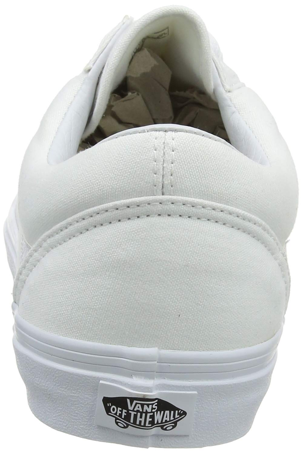 848b061c85 Galleon - Vans Off The Wall Old Skool Sneakers (True White) Classic Unisex Skate  Shoes
