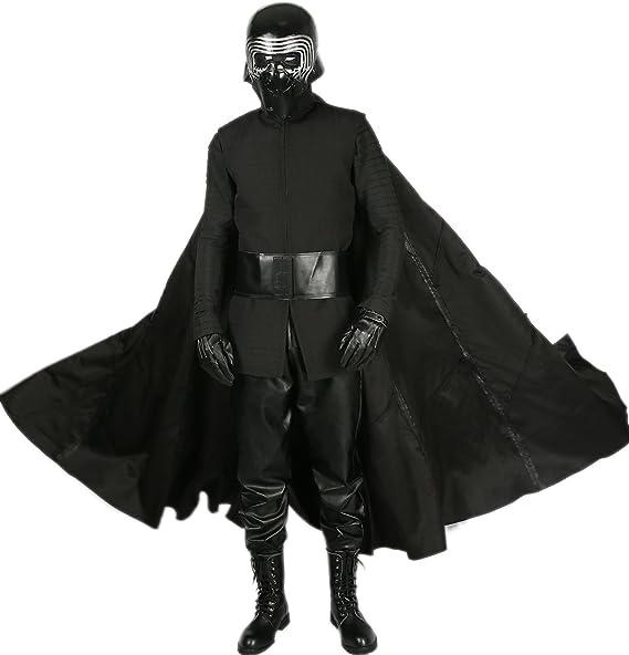 Amazon.com: Xcoser más reciente Deluxe Kylo Ren disfraz de ...