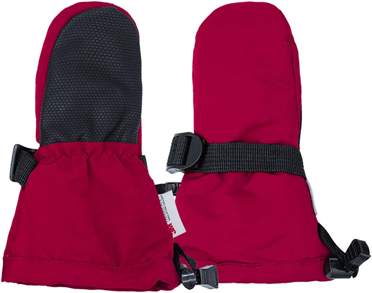 Jan /& Jul Waterproof Mittens Fleece-Lined Stay-on Winter Snow and Ski Mittens for Baby Toddler Kids Girls and Boys