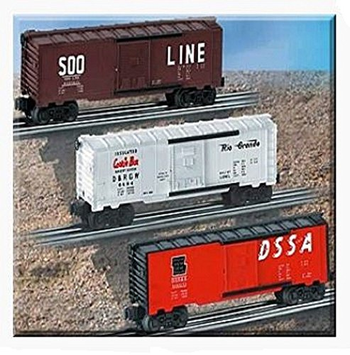 6464 Series Boxcars - LIONEL TRAINS ARCHIVE BOXCARS 6464 SERIES 1 - 3 PACK 39242