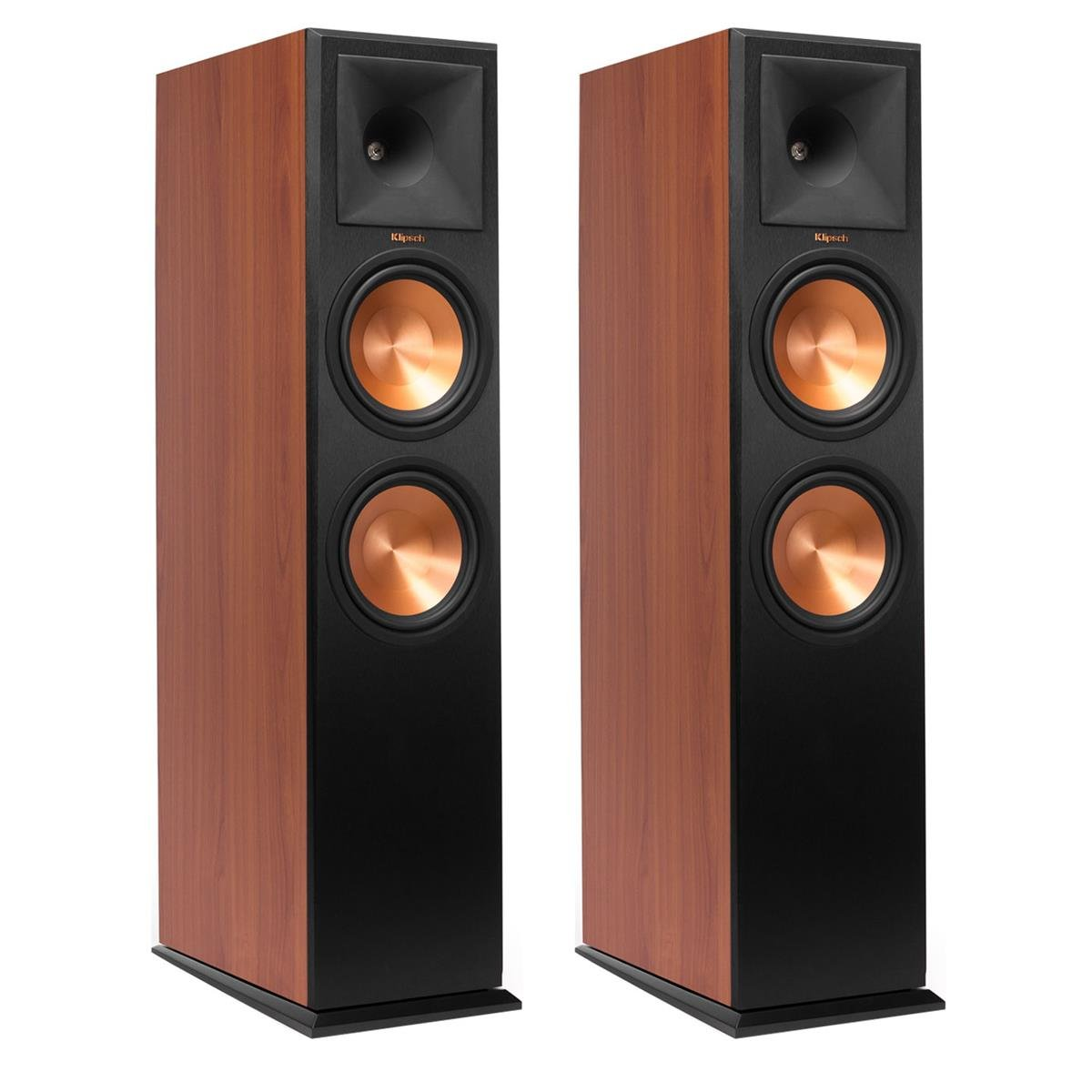 Klipsch RP-280F Reference Premiere Floorstanding Speaker with Dual 8 inch Cerametallic Cone Woofers (Cherry Pair)