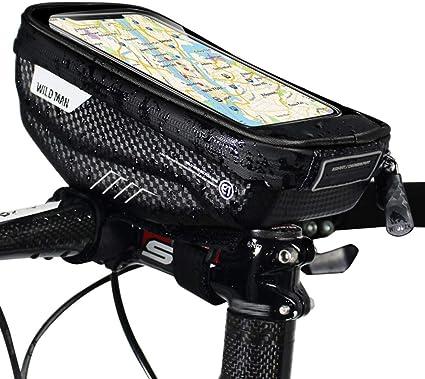 Sacoche De Guidon Velo Sacoche Guidon V/élo Support de T/él/éphone /Étanche Cyclisme Accessoires Accessoires v/élo Moto Support de T/él/éphone /Étanche