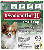 Ax Advantixii Dog 4mon 4-10lb Grn