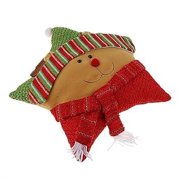Amazon.com: Fityle Merry - Cojín de Navidad para sofá ...