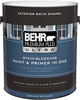 product image for 1-gal. Ultra Pure white Satin Enamel Exterior Paint