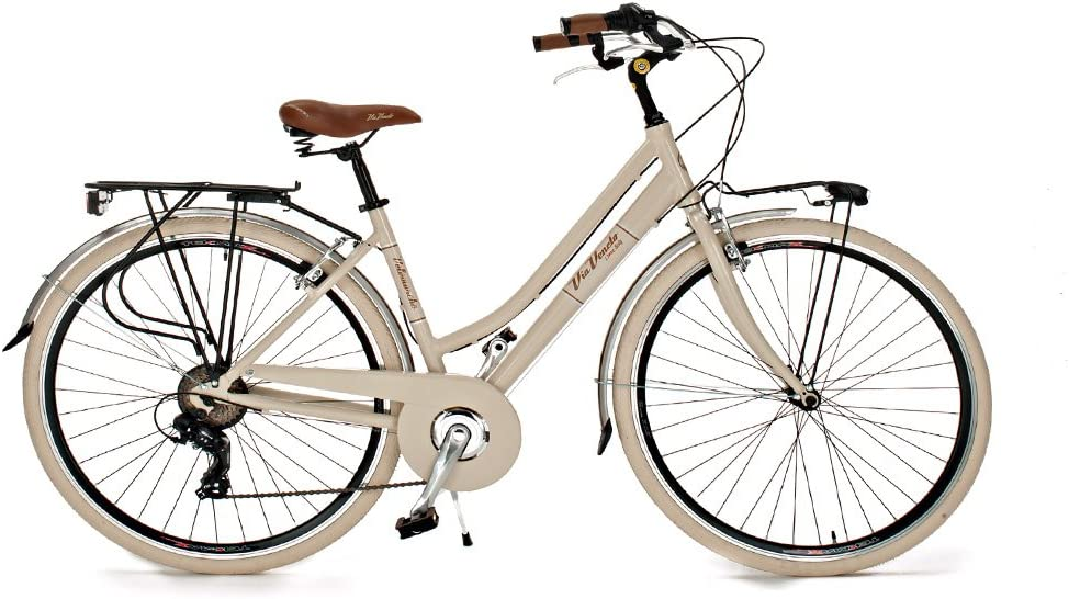 Via Veneto Bicicleta 605 Retro, Aluminio, Mujer, Paseo, Vintage ...