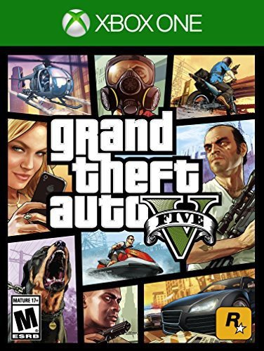 Grand Theft Auto V - Xbox One (Top Games For Xbox 360 Right Now)