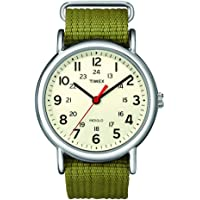 Timex Unisex Special Weekender Slip Through Quartz Watch with Analogue Display and Nylon strap