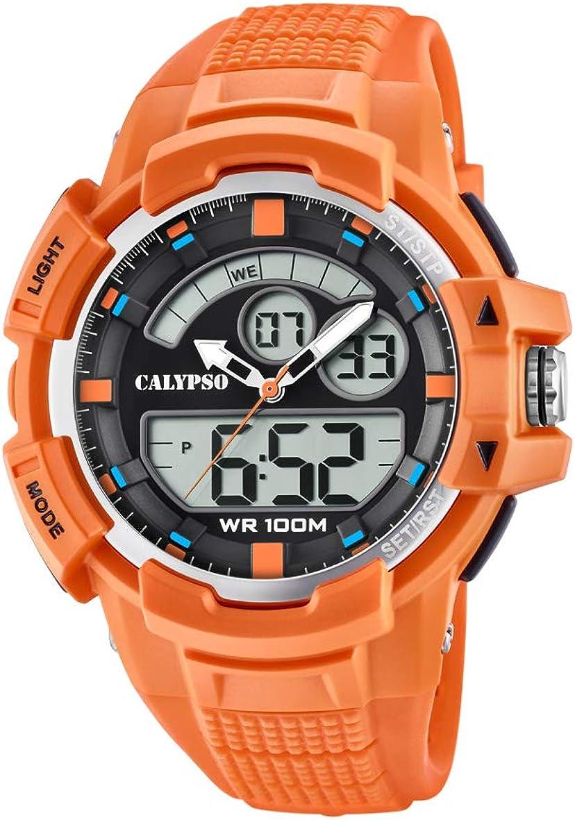 Calypso Watches Reloj Analógico-Digital para Unisex Adultos de Cuarzo con Correa en Plástico K5767/1
