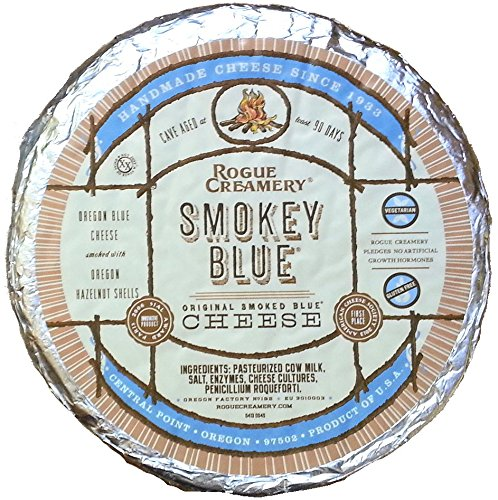 Smokey Blue Cheese (1 pound) by Rogue Creamery (Image #1)