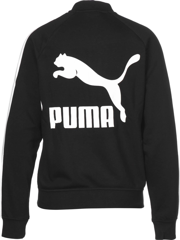 db501bbe Puma Women's Classics Logo T7 Track Jacket: Amazon.co.uk: Sports ...