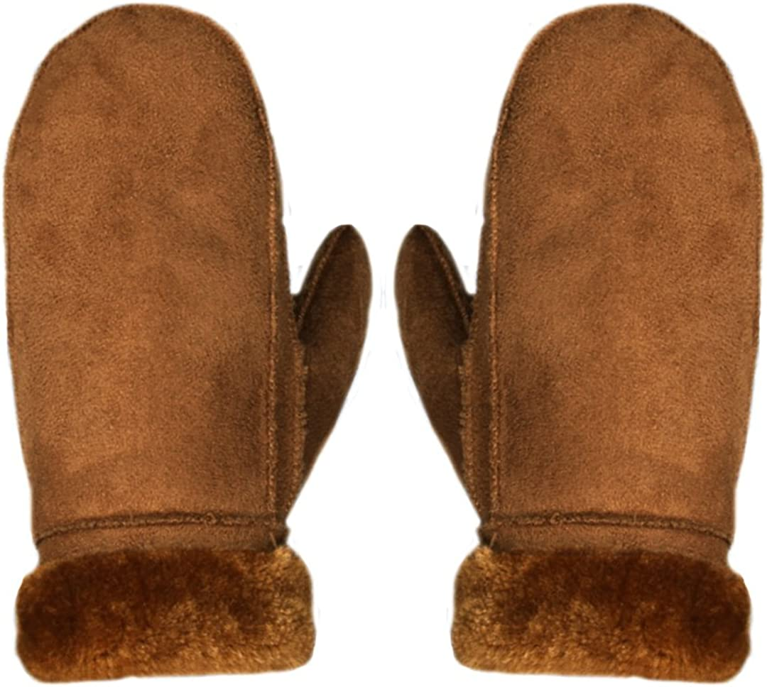 Suede Leather Mittens...