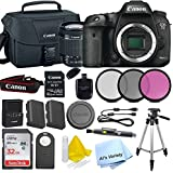 Canon 7D Mark II Digital SLR Camera with EF-S 18-55mm IS STM Lens(Black) with SanDisk Ultra 32GB SDHC Class 10 Card + W E1 WiFi Card + More…