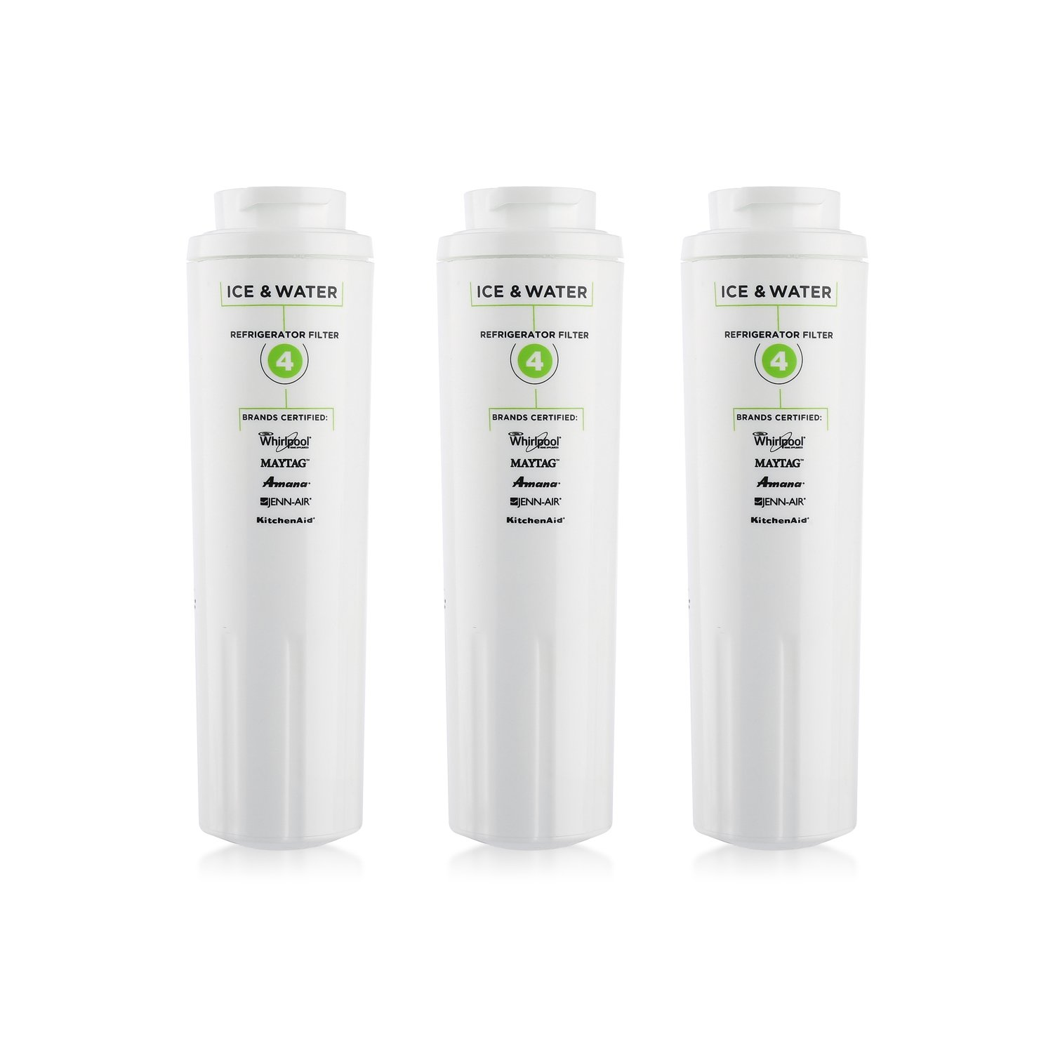 3 Count Refrigerator Water Filters 4 4396-/395 Replacement Water Filter for Kenmore 9084