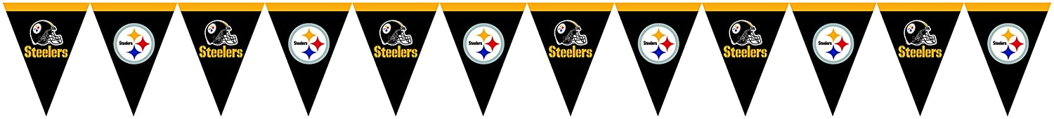 Creative Converting Officially Licensed NFL Paper Beverage Napkins, 192-Count, Pittsburgh Steelers 659525