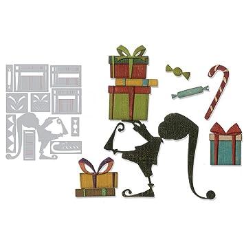 Christmas Gift Metal Cutting Dies DIY Scrapbook Emboss Paper Cards Album Stencil Silver Ruby569y Scrapbooking Embossing Dies Cutting Dies Stencils