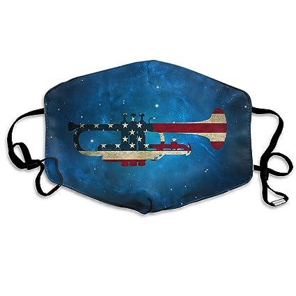 Amazon com: American USA Flag Patriotic Dust Masks Reusable