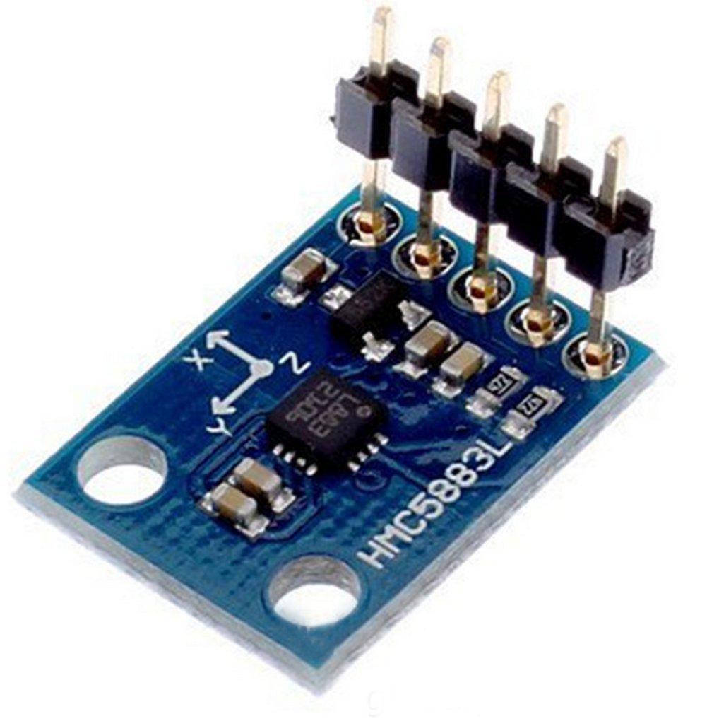 Dosige GY-273 HMC5883L Modul Dreiachs Magnetische Magnetische Elektronische Kompass Sensor Modul f/ür Arduino Raspberry
