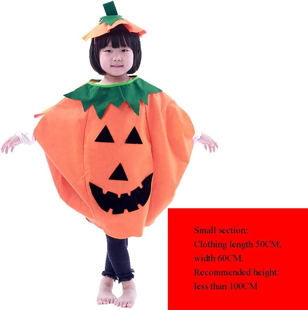 LGP Vestido de Calabaza de Halloween Unisex con Sombrero de ...