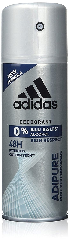 adidas adipure Deo Body Spray für Herren mit patentierter