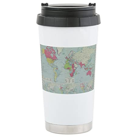 Cafepress map of the world ceramic travel mug standard multi color cafepress map of the world ceramic travel mug standard multi color gumiabroncs