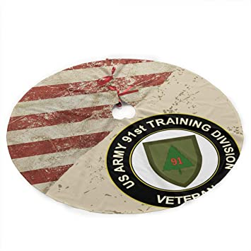 Amazon US Army Veteran 91ST Training Division Flag