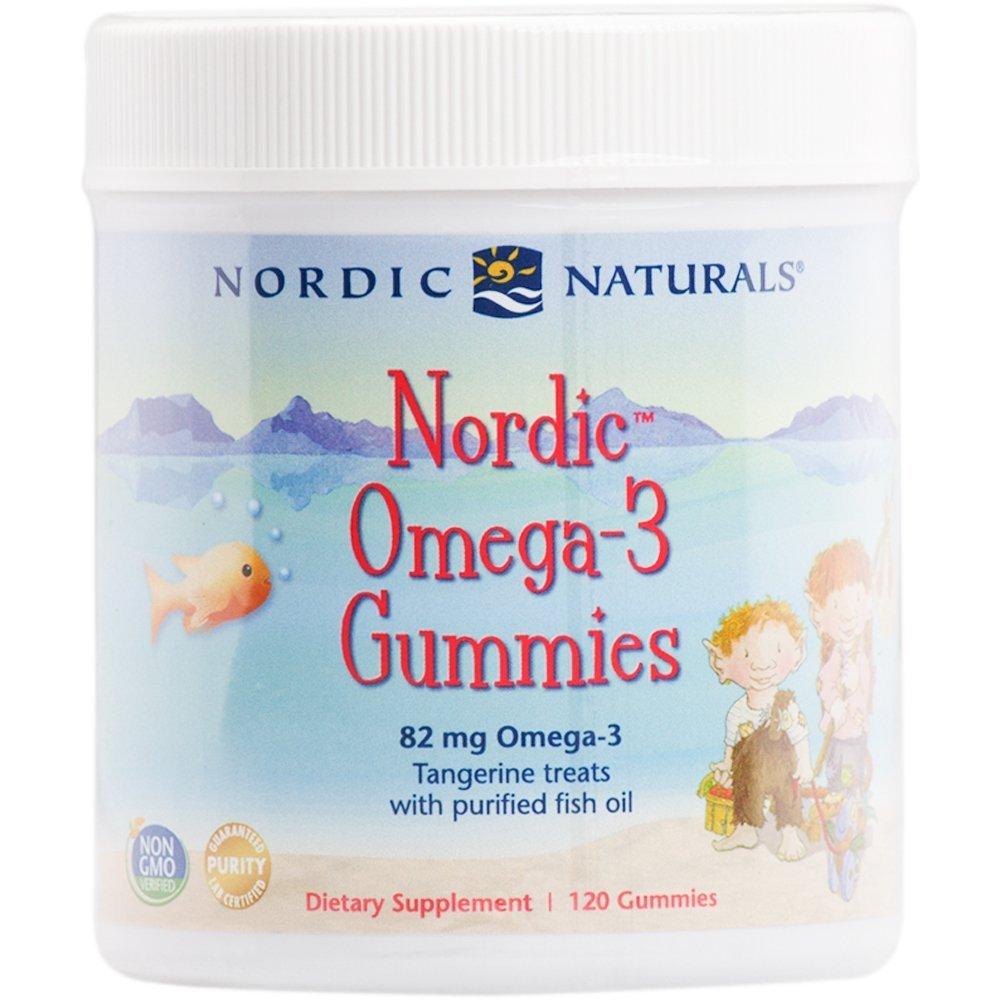 NORDIC NATURALS社 ノルディック オメガ-3 グミーズ タンジェリン 120グミ B007NS7UDW