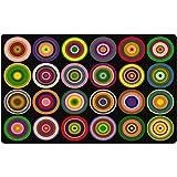 Anillos de color para alfombras (asiento 30)